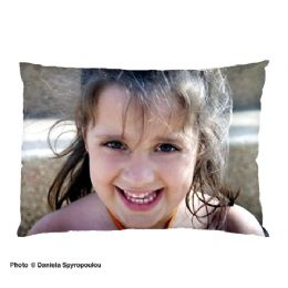 Photo Pillow Case, Personalised Photo Pillow Case  Edge To Edge Printing, Covers complete pillow